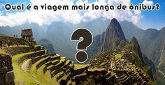 Qual a viagem mais longa de ônibus do mundo? #viagens #curiosidades #turismo #viagem