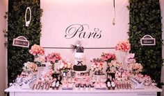 Pink Paris Birthday Party Full of Cute Ideas via Kara's Party Ideas | Kara'sPartyIdeas.com #Paris #Chanel #Party #Ideas #Supplies (10)