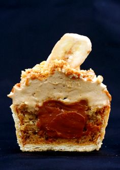 Banoffi Pie cupcake banana caramel shortbread
