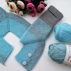 😇 💕 👏 💖 💐 😇 Skewer no 78 stitches for 1 year 18 2 8 2 18 2 8 2 18 = 78 18 rows are increased. How To Start Knitting, Knitting For Kids, Knitting For Beginners, Baby Knitting Patterns, Baby Patterns, Free Knitting, Cardigan Bebe, Knitted Baby Cardigan, Knitted Baby Clothes