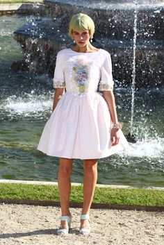 So feminine. Chanel Resort 2013