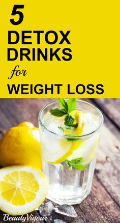 5 Wonderful Detox Drinks For Weight Loss  #Weightloss