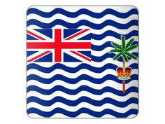 The national flag of the British Indian Ocean Territory is just like the flags of other British colonies and dependencies as it consists of the Union Flag at the higher hoist-side. British Indian Ocean Territory, Union Flags, National Flag, Our World, 22lr, Symbols, Shops, Magazine, Free Shipping