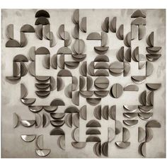 Michel Deverne - Stainless Steel Relief (1970)
