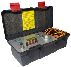MURRAYLOOP T-1502 Portable, Battery operated. For pre-location of low & high resistance constant leakage fault. When used with suitable high voltage DC supply. Suitable for constant leakage fault up to 5 K.V. DC. Gives reading in % of cable length. Accuracy up to 1% of fault distance. Null deflection by means of LED. Calibrated ten turn potentiometer.