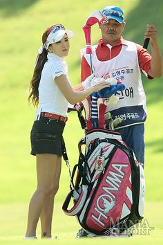 shin ae ahn - Google Search Girl Golf Outfit, Cute Golf Outfit, Girls Golf, Ladies Golf, Lpga Golf, Golf Attire, Golf Player, Golf Fashion, Asian