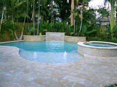 small back yard pools with spas | Signature Pools & Spas Inc - Small Yard Pools