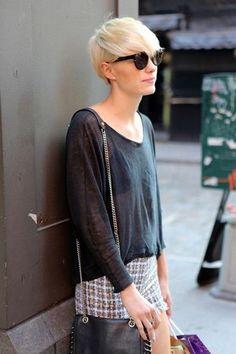 Zdjęcie 11 - ODWAŻNE Fryzury damskie krótkie włosy