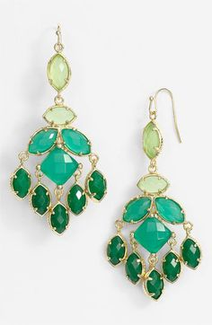 Kendra Scott Viola Chandelier Earrings available at #Nordstrom