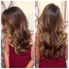 Buttery brunette melted into sunkissed blonde balayage