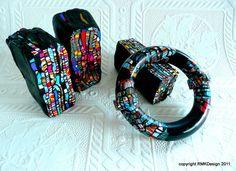 Alice Stroppel canes on bracelet.