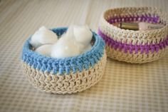 I am going to make these -  when I figure out how to get past making just a chain of crochet!!