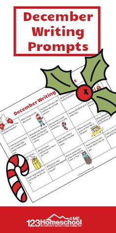 FREE ?December Writing Prompts
