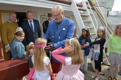 Prinsesser ombord på Fregatten 080716 0063