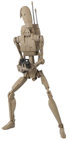 S.H.figuarts Star Wars Battle Droid BANDAI PVC Action Figure from Japan #Bandai