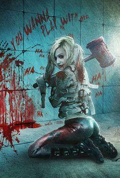 Harley Quinn/Arkaham Asylum