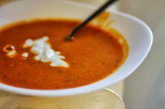 Indická polévka z čočky | Coolinář.cz Thai Red Curry, Soup Recipes, Paleo, Food And Drink, Dinner, Cooking, Ethnic Recipes, Soups, Fitness