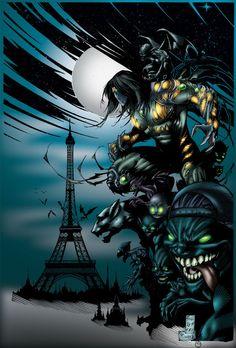 #Darkness #Fan #Art. (Darkness) By: MarcBourcier. (THE * 5 * STÅR * ÅWARD * OF: * AW YEAH, IT'S MAJOR ÅWESOMENESS!!!™) ÅÅÅ+