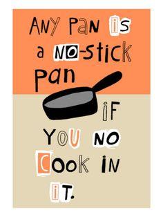 Non-Stick Pan  :-)