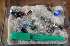 Magnetic sensory box