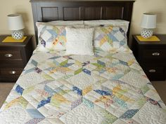 FRESH includes 2 shams Quilt -- exquisite skillfully made Amish Quilts from Lancaster (hs6838)