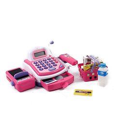 Pink Cash Register Play Set  zulilyfinds Christmas Gift 920de5512059