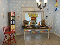 Toy story. Two infinity and beyond. 2nd birthday. Party