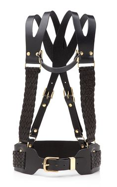 Regiment Braided Harness ' Prabal Gurung... cannot express just how much I love this belt harness design!!!