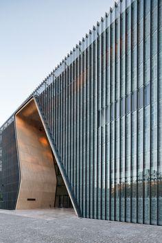 Museum of the History of Polish Jews, Warsaw, Poland by Architects Lahdelma Mahlamäki and APA Kuryłowicz Associates