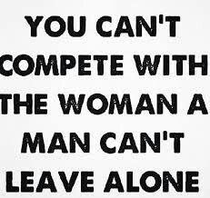 True. Time to move on & let her have him until he find someone else he can't leave alone & he make her exactly what she was doing with him on the other woman