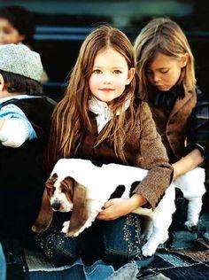 Ralph Lauren Kids - Basset Puppies - good tweed,more from here:http://www.shopspolo.com/children-ralph-lauren-polos