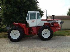 Minneapolis Moline_A4T-1600s Antique Tractors, Vintage Tractors, Old Tractors, Vintage Farm, Minneapolis Moline, Farm Day, Farm Life, Farming, Iron