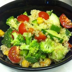 Quinoa salad! Perfect for summer