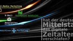 Mittelstand-digital – Hat der deutsche Mittelstand das digitale Zeitalter verschlafen? Internet, Digital, Not Interested, Things To Do, German