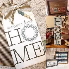 Scrap Wood Crafts, Chalk Crafts, Diy Crafts, Painting On Wood, Sign Painting, Painted Signs, Painted Wood, Magnolia Design, Wood Tags