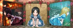 McGee's) / Alice Madness Returns / Alice Liddell / Alice in Wonderland Alice In Wonderland Aesthetic, Adventures In Wonderland, Wonderland Alice, Alice Madness Returns, Alice Mare, Alice Liddell, Fire Flower, Cat Character, Cat Dresses