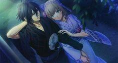 amnesia anime toma and heroine kiss - Google Search