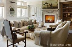 At Home with Fashion Designer Joseph Abboud   Traditional Home