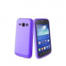 Capa Galaxy Ace 3 Muvit - Minigel Roxa  R$35,44