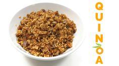 Como preparar e temperar Quinoa | Nutrição, saúde e qualidade de vida Dog Food Recipes, Breakfast, Health, Lifestyle, Youtube, Pet Food, Food For Dogs, Cooking Tips, Dietitian
