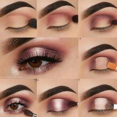 deepest eye makeup, easy step-by step makeup ideas,simple eye makeup for beginners, bronze eye makeup, matte eye makeup eyeshadows, eye … Matte Eye Makeup, Bronze Eye Makeup, Applying Eye Makeup, Eye Makeup Steps, Simple Eye Makeup, How To Apply Makeup, Dramatic Eye Makeup, How To Makeup Eyes, Dramatic Eyes