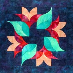 Southwind Designs has Dimensional Curved Quilt Patterns for Todays Quilters