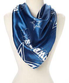 Loving this Dallas Cowboys Silky Scarf on #zulily! #zulilyfinds
