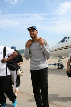 Photo Gallery | Karl-Anthony Towns Arrives In Minnesota