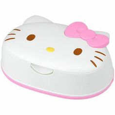 Wet Tissue Case Container Only Hello Kitty Wet Wipes Case Sanrio Japan Inspired by You. Baby Cats, Baby Kitty, Hello Kitty Items, Wipes Case, Wet Wipe, Little Twin Stars, Bento Box, Sanrio, Peppermint