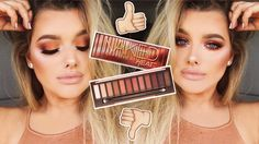 FIRST IMPRESSIONS/GLAM GRWM: URBAN DECAY NAKED HEAT PALETTE! | Rachel Leary - YouTube