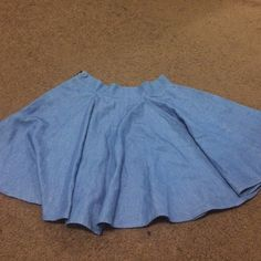Urban outfitters denim circle skirt, Urban outfitters denim circle skirt, super flowy and cute on. I just bought a size too large. lucca couture brand Urban Outfitters Skirts Circle & Skater