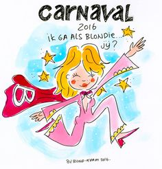 Carnaval by Blond-Amsterdam Amsterdam Images, Blond Amsterdam, Drawing Quotes, Art Academy, W 6, Cartoon, Drawings, Artwork, Fictional Characters