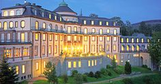 Schlosshotel Bühlerhöhe-Baden-Baden, Germany.  It's a castle on a hill. Awesome.