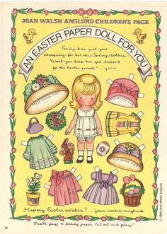 Miss Missy Paper Dolls: holiday